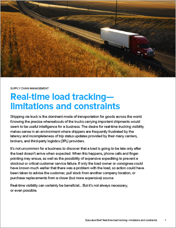 Th Real time load tracking limitations and constraints Executive Brief English 457px