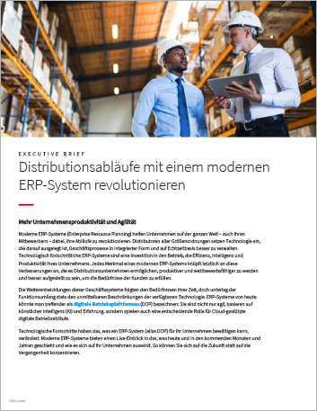 Th Revolutionize distribution operations with a modern ERP system Executive Brief German 457px
