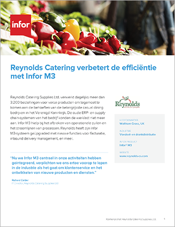 Th Reynolds Catering Supplies Ltd Case Study Infor M3 Food and Beverage EMEA Dutch 457px