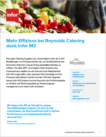 Th Reynolds Catering Supplies Ltd Case Study Infor M3 Food and Beverage EMEA German 457px