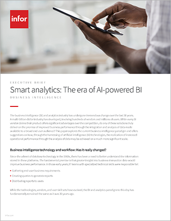 Th Smart analytics The era of AI powered BI Executive Brief English 457px