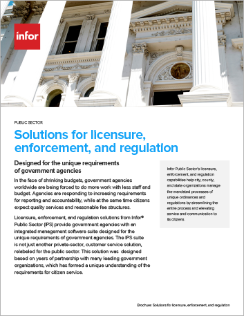 Th Solutions for licensure enforcement and regulation Brochure English 457px