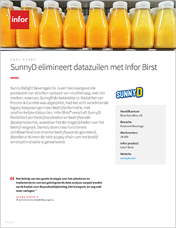 Th Sunny Delight Beverage Co Case Study Infor Birst Food and Beverage NA Dutch 457px