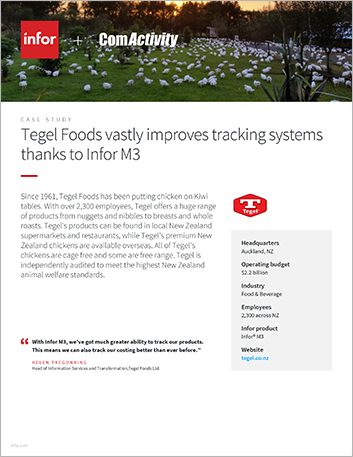 Th Tegel Foods Ltd Case Study Infor M3 Food and Beverage APAC English 457px