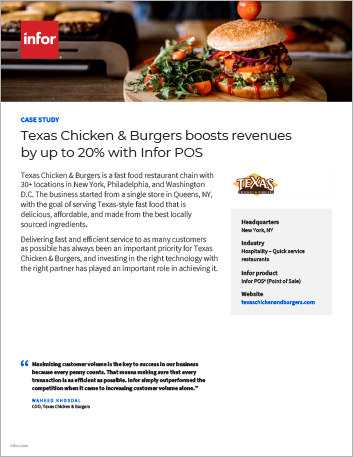Th Texas Chicken and Burgers Case Study Infor POS Hospitality NA English 457px