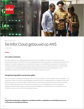 Th The Infor Cloud built on AWS Brochure Dutch 457px