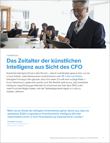 Th The age of artificial intelligence and its impact on the CFO White Paper German 457px