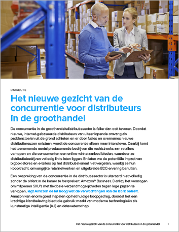 Th The new face of competition for wholesale distributors Perspectives Dutch 457px