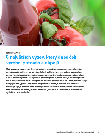Th The top 5 issues food and beverage manufacturers are facing today Perspectives Czech 457px