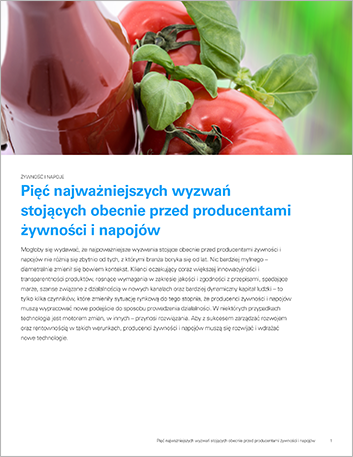 Th The top 5 issues food and beverage manufacturers are facing today Perspectives Polish 457px