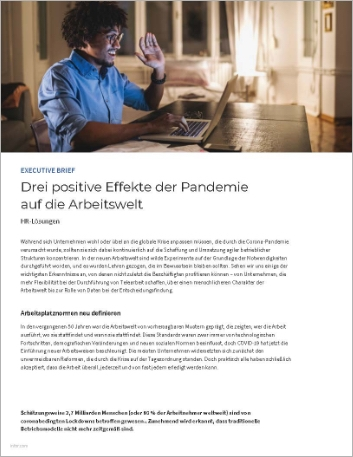 Th Three ways the pandemic has improved the world of work Executive Brief German 457px