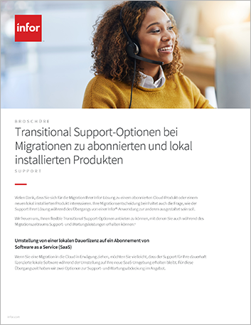 Th Transitional Support options for subscription and on premises product migrations Brochure German 457px