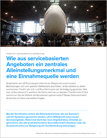 Th Turning service based offerings into a key differentiator and source of revenue Perspectives German 457px