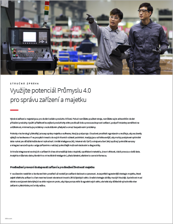 Th Unlock the potential of Industry 4 0 for equipment and asset management Executive Brief Czech 457px