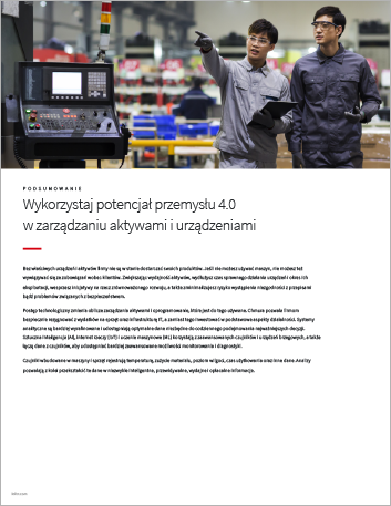 Th Unlock the potential of Industry 4 0 for equipment and asset management Executive Brief Polish 457px