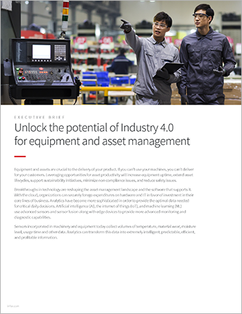 Th Unlock the potential of Industry 4 0 for equipment and asset management Executive Brief English 457px