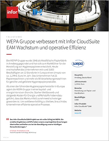 Th WEPA Group Case Study Cloud Suite EAM Industrial Manufacturing EMEA German 457px