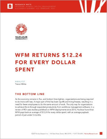 Th WFM Returns 12 24 for every dollar spent Analyst Report Infor English 457px