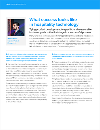 Th What success looks like in hospitality technology Executive Interview Manu Chawla English 457px