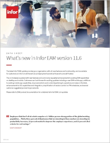 Th Whats new in Infor EAM version 11 6 Data Sheet English 457px