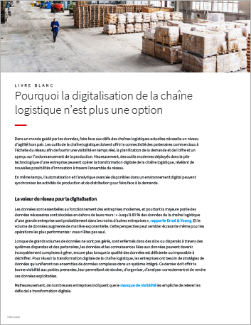Th Why supply chain digitization is no longer optional White Paper French 457px