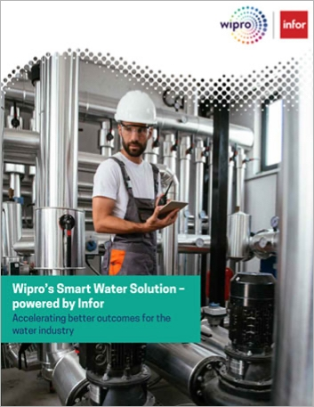 Th Wipro Smart Water Solution powered by Infor e Book English 457px