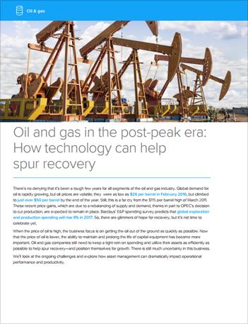 Th eam oil gas supply demand