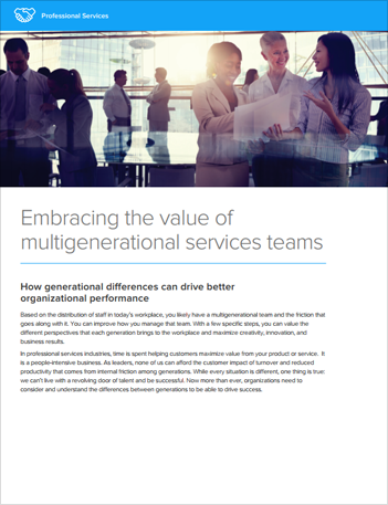 Th hfe embracing value of multigenerational services teams