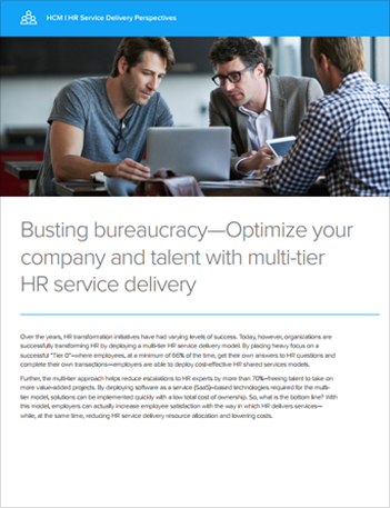 Th hfe hr service delivery