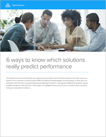 Th hfe ts white paper 6 ways to know which hcm solutions really predict performance