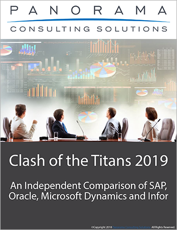 Th manufacturing erp report third party panorama consulting clash of the titans 2019