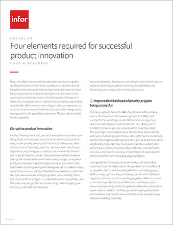 Th Four elements required for successful product innovation Checklist English 457px