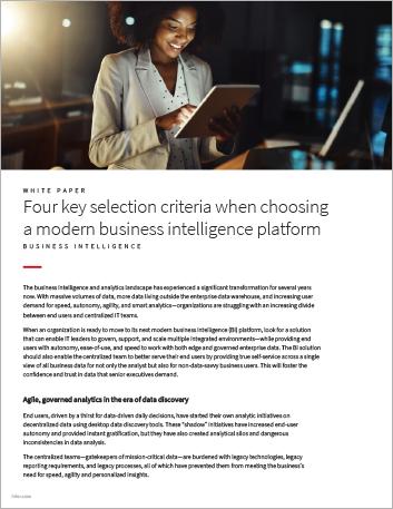 Th Four key selection criteria when choosing your next modern BI platform White Paper English 457px
