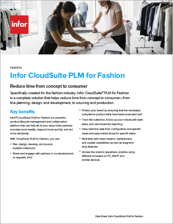 Th Infor Cloud Suite PLM for Fashion Data Sheet English 457px