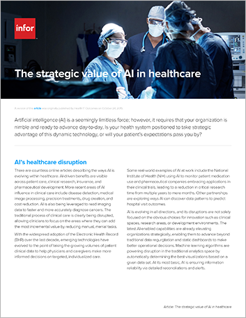 Th The strategic value of AI in healthcare Article English 457px
